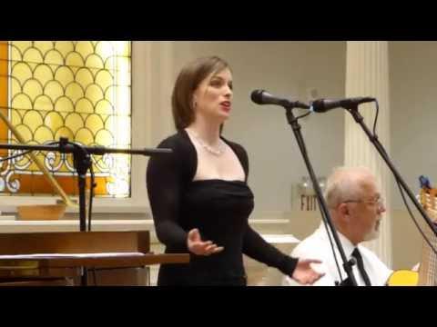 Erin Wakeman, Government Street Presbyterian Church, April 19, 2016, Mobile, Al.