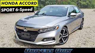 2020 Honda Accord Sport 2.0T 6-Speed Manual - Best Sport Sedan!