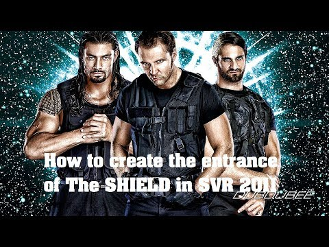 How To Create The SHIELD Entrance In WWE SVR 2011