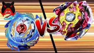 קרב בייבלייד עקוב מדם - גוד וולטרק 3 נגד לג'נד ספרייזן!!!