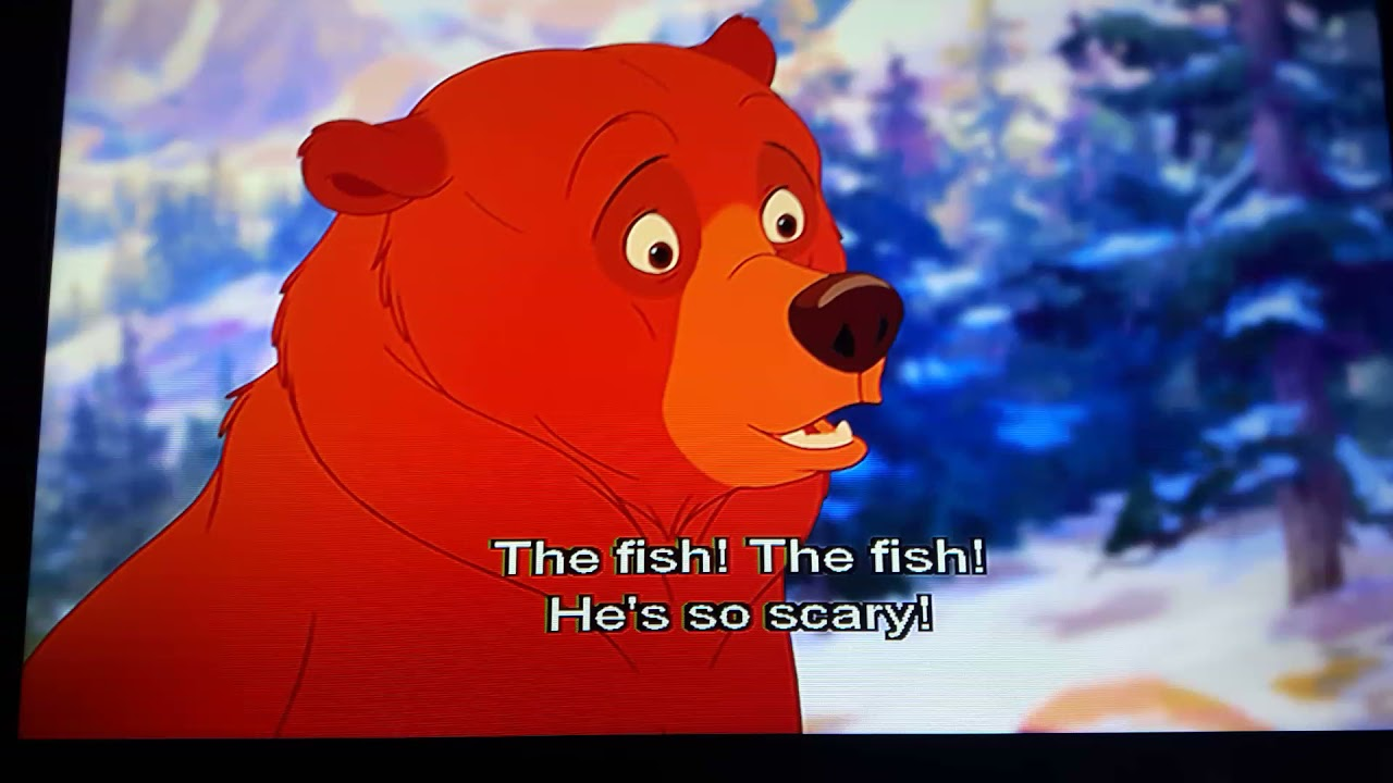 Download BROTHER BEAR 2 : Nita is scared of the water. 😱 (🌊)