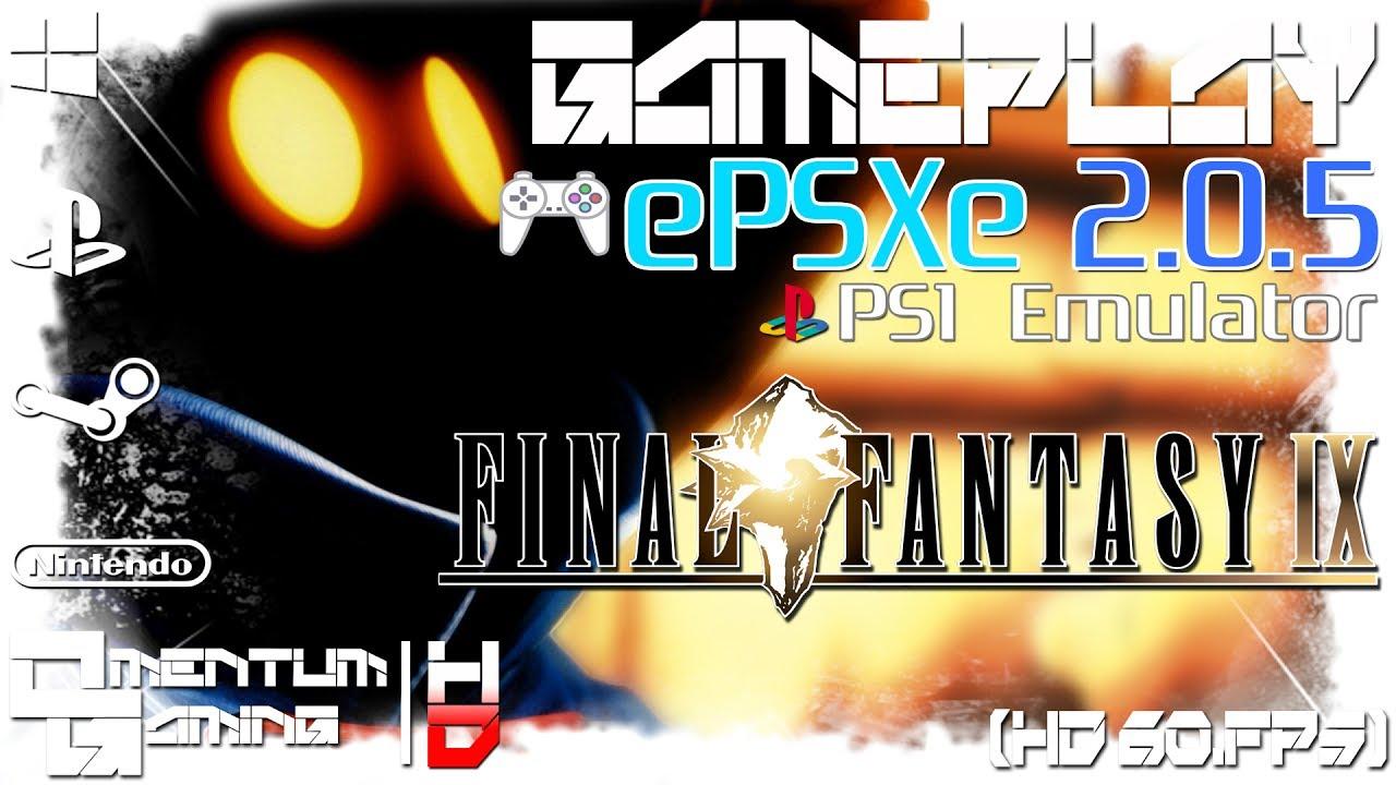 Final Fantasy IX - ePSXe 2 0 5 | PS1 Emulator Gameplay | HD 1080p 60ᶠᵖˢ