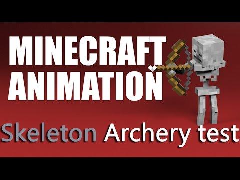 Minecraft Мультики - Школа монстров: Стрельба из лука и стрижка овец (Майнкрафт анимация)