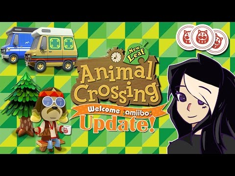 Animal Crossing: New Leaf Update! ~ Campground, Secret Storeroom, MEOW Coupons, Happy Home Designer