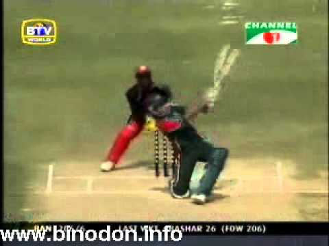 January 2005: Bangladesh vs Zimbabwe ODI-3 (Channel-i News report)