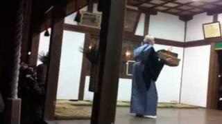 車大歳神社の翁舞