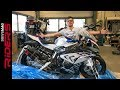 €80.000 BMW HP4 RACE Unboxing & Start-up | S1000RR carbon fiber superbike