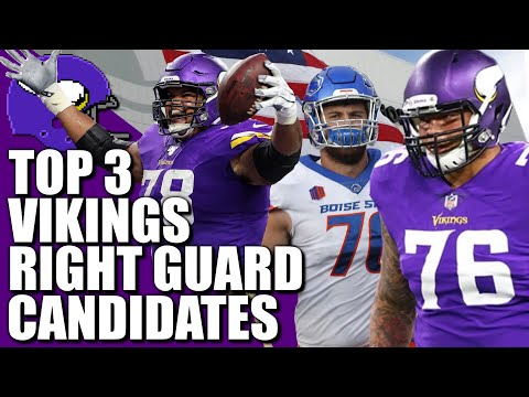 Top 3 Vikings Right Guard Candidates