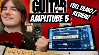 PETE THORN for GUITAR WORLD - AMPLITUBE 5 REVIEW