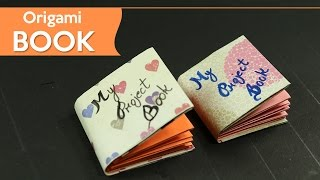 Small Origami Book - Easy & DIY Origami Paper Craft