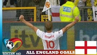 All england goals | soccer aid
