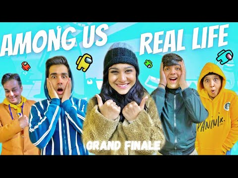 Download AMONG US IN REAL LIFE WITH MY FAMILY PART 4   Rimorav Vlogs