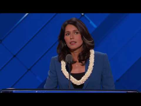 Representative Tulsi Gabbard  at DNC 2016