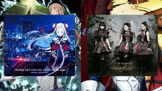 Cover images SWORD ART ONLINE Ordinal Scale OST longing or FATE ZERO Intro theme Kalafina   to the beginning