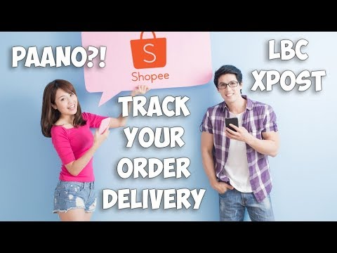 How to Track your Shopee Order Delivery LBC/Xpost