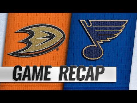 Cogliano's late PPG leads Ducks past Blues, 3-2