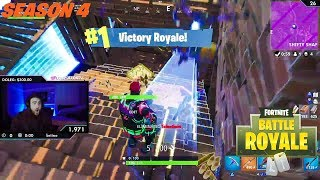 LosPollos Get His First Solo Win Of Season 4 On Fortnite