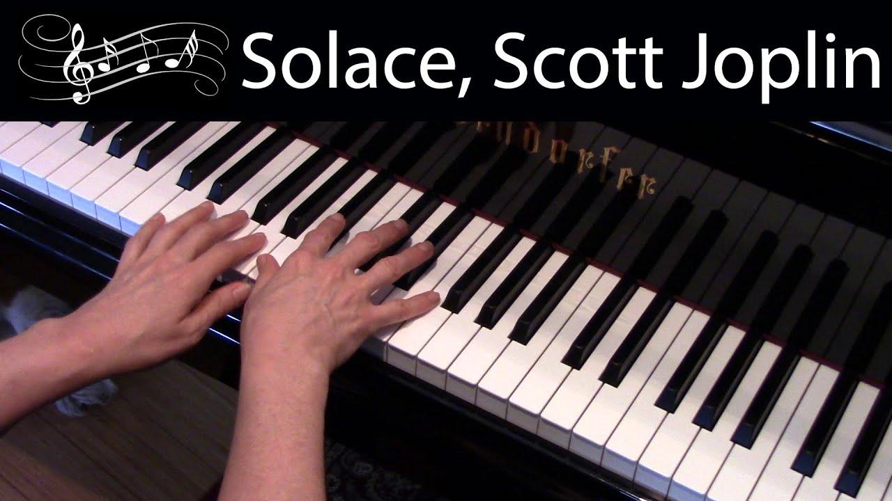 Solace, Scott Joplin (Early-Advanced Piano Solo)