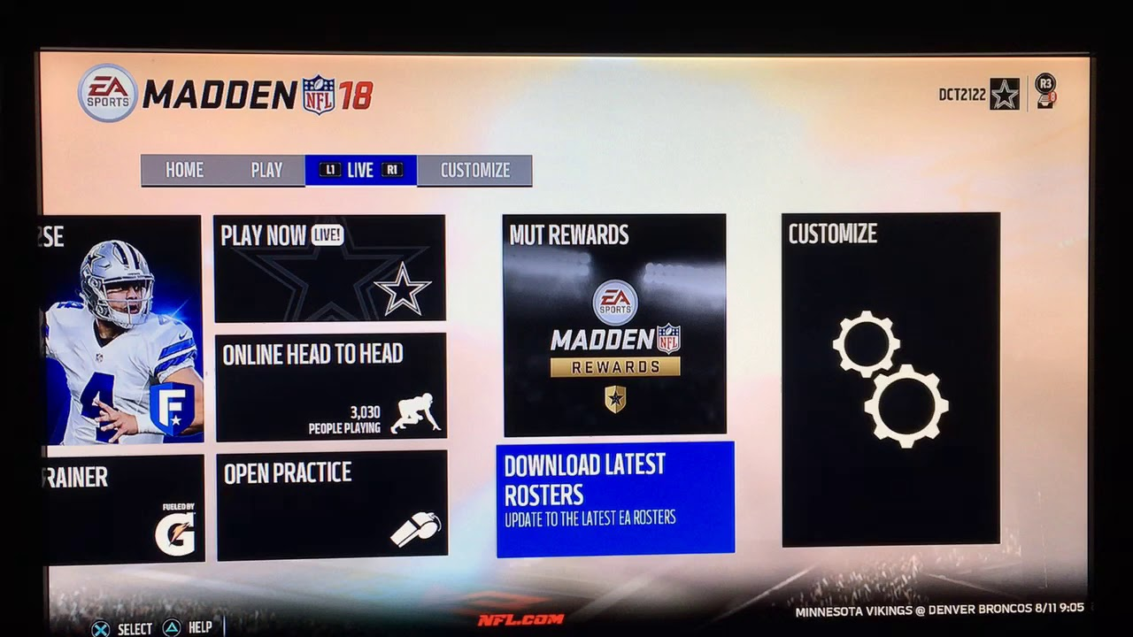 How to get madden 19 rosters in madden 18 youtube.