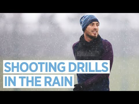 WET WEATHER TRAINING! | Goals & Saves