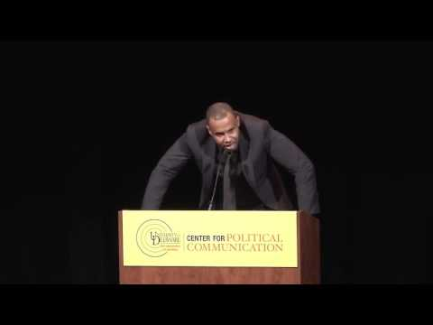 "Peter Bailey speaks on ""Race In America"" at the University of  Delaware"
