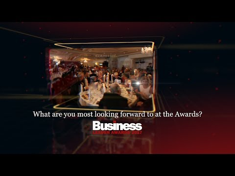 Book your place at the business event of the year | Business Leader Awards 2017