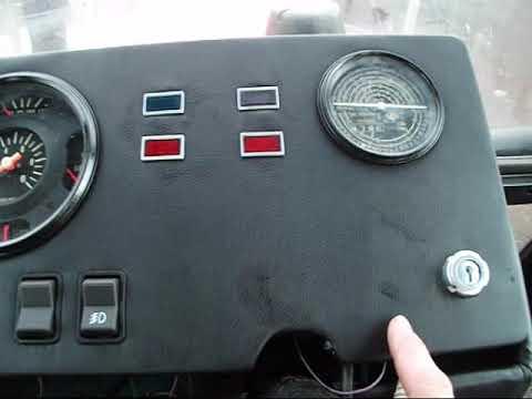 Самодельная панель приборов на трактор мтз