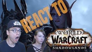 "World of Warcraft ""Shadowlands"" Cinematic Trailer Reaction"