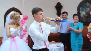 Носовка. Свадьба Юра + Наташа. Семейный Оркестр.