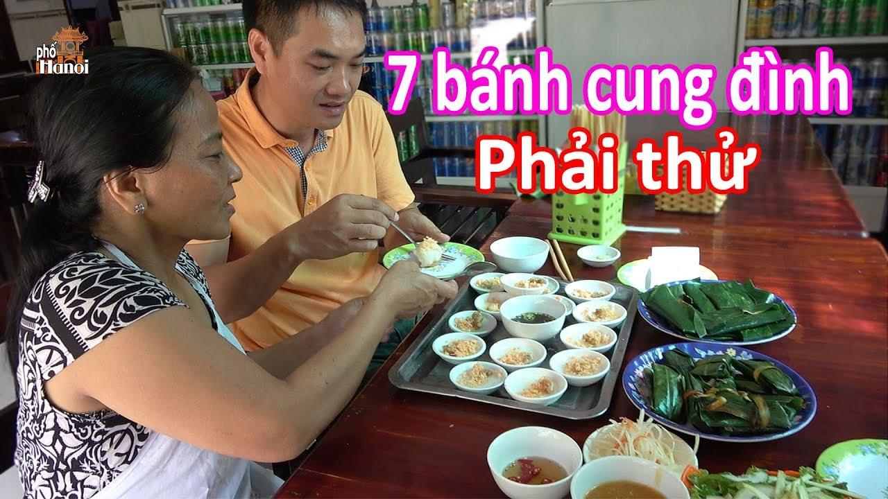 7 món bánh đặc sản dành trong cung đình phải thử khi du lịch Huế #hnp