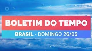 Previsão Brasil -  Ar frio se espalha sobre o centro-sul do país