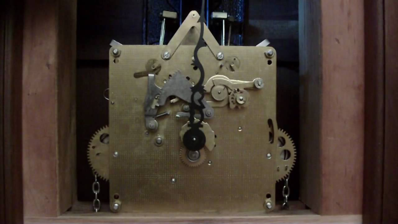 Emperor Grandfather Clock Movement With Out Dial With