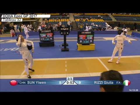 2018 79 F E Individual Doha QAT GP T32 08 yellow RIZZI ITA vs SUN CHN