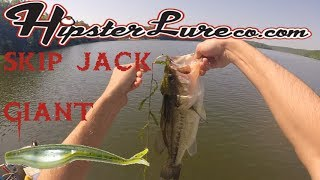 Bass Fishing with Venom Lures: Skip Shad Giant
