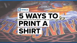 5 Ways to Print a Shirt