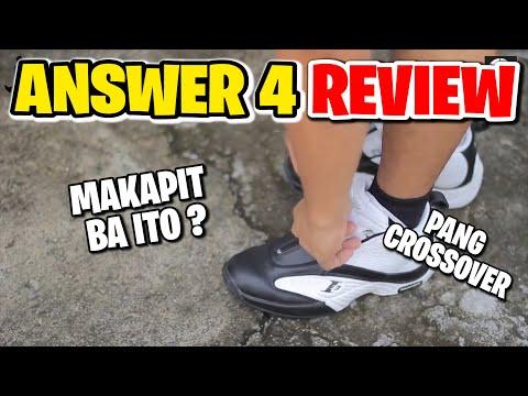 ANSWER 4 Review -  Kicks for you by Nino Ventura