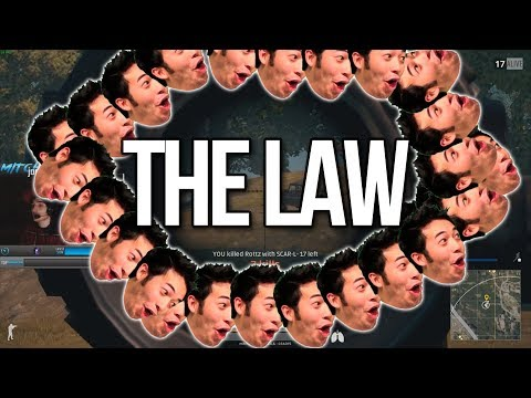 THE LAW - BEST SHOTS ON TWITCH (PUBG)