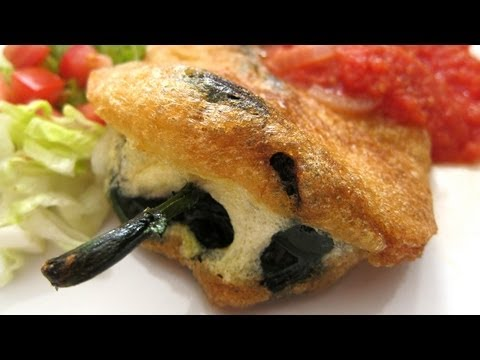 How To Make Chiles Rellenos | Chile Relleno Recipe | Hilah Cooking
