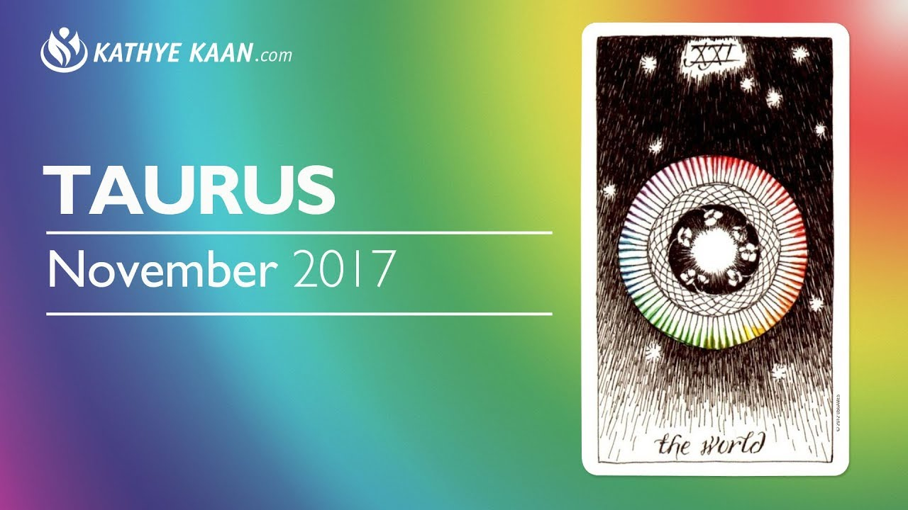 TAURUS NOVEMBER 2017 💝 LUCK IN MONEY | MEETING IN UP WITH YOUR SOULMATE