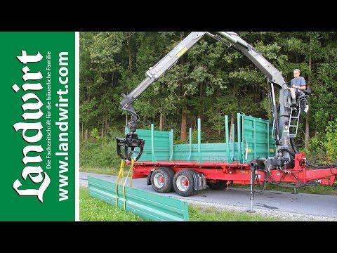 Farmtech TDK 1300F Kipper mit Kran | landwirt.com