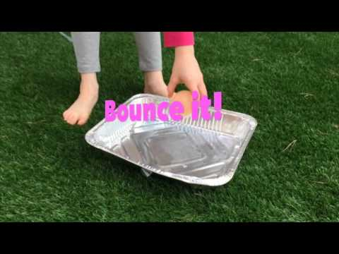 how to make an egg bouncy