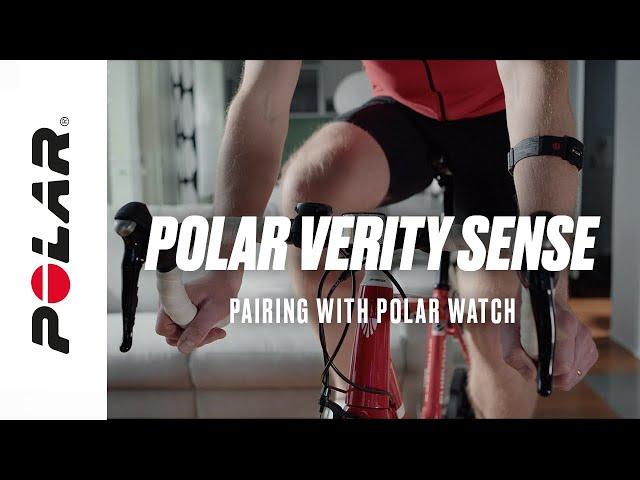 Polar Verity Sense | Pairing with Polar Watch