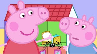Peppa Pig Episodes - Halloween compilation - Cartoons for Children thumbnail