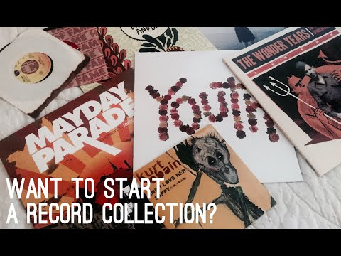 TIPS FOR STARTING A RECORD COLLECTION | Sophie Tag