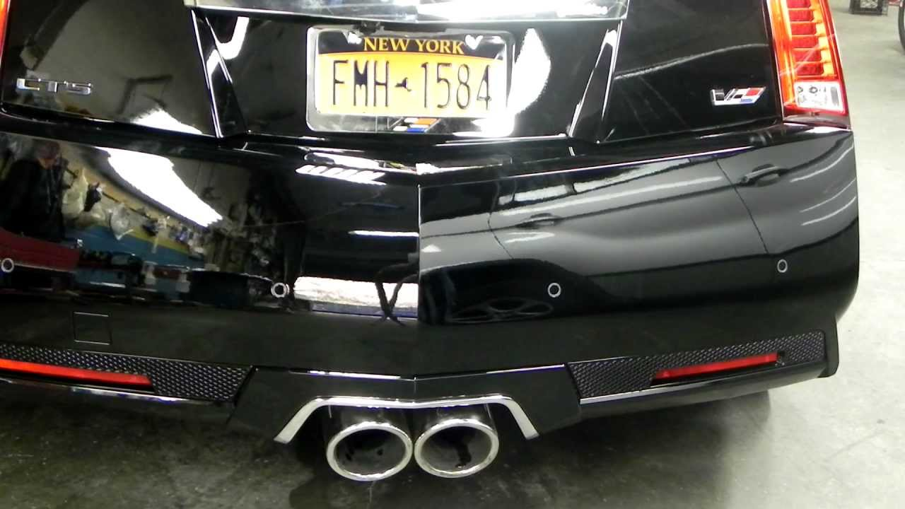Cadillac Cts V With Billboat Performance Exhaust By