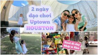 2 Ngày Dạo Chơi Quanh Uptown HOUSTON ♥ Shopping & HAUL Đi chợ NHẬT + HÀN   mattalehang