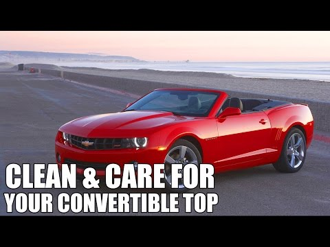 How To Clean and Protect Convertible Tops - Chemical Guys Convertible Top Product Line