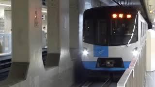 大通駅の札幌市営地下鉄東豊線7000形電車