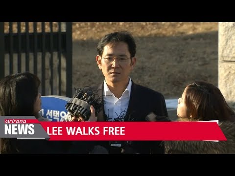 Samsung heir apparent released after 353 days in prison