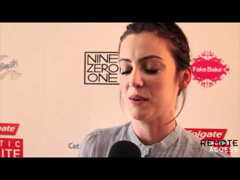 Jessica Stroup Talks Silver's Baby on 90210